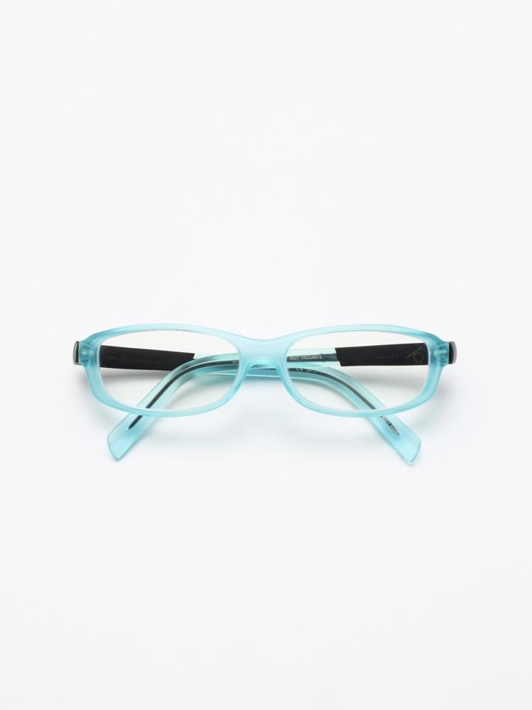 Whiteout & Glare Kaleidoscope / Passante matt aqua titanium