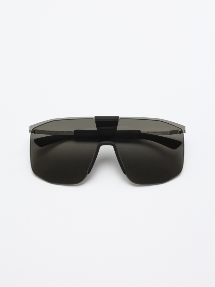 Mykita Mylon sun Yarrow Light Warm Grey/Pitch Black