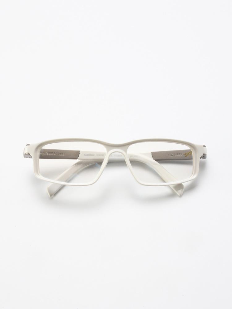 Whiteout & Glare Volt / Varistor glossy white titanium