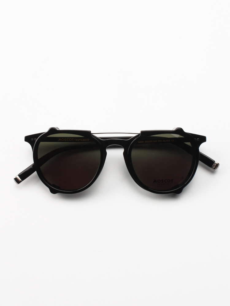 Moscot / Spirit Jared black + clip-on
